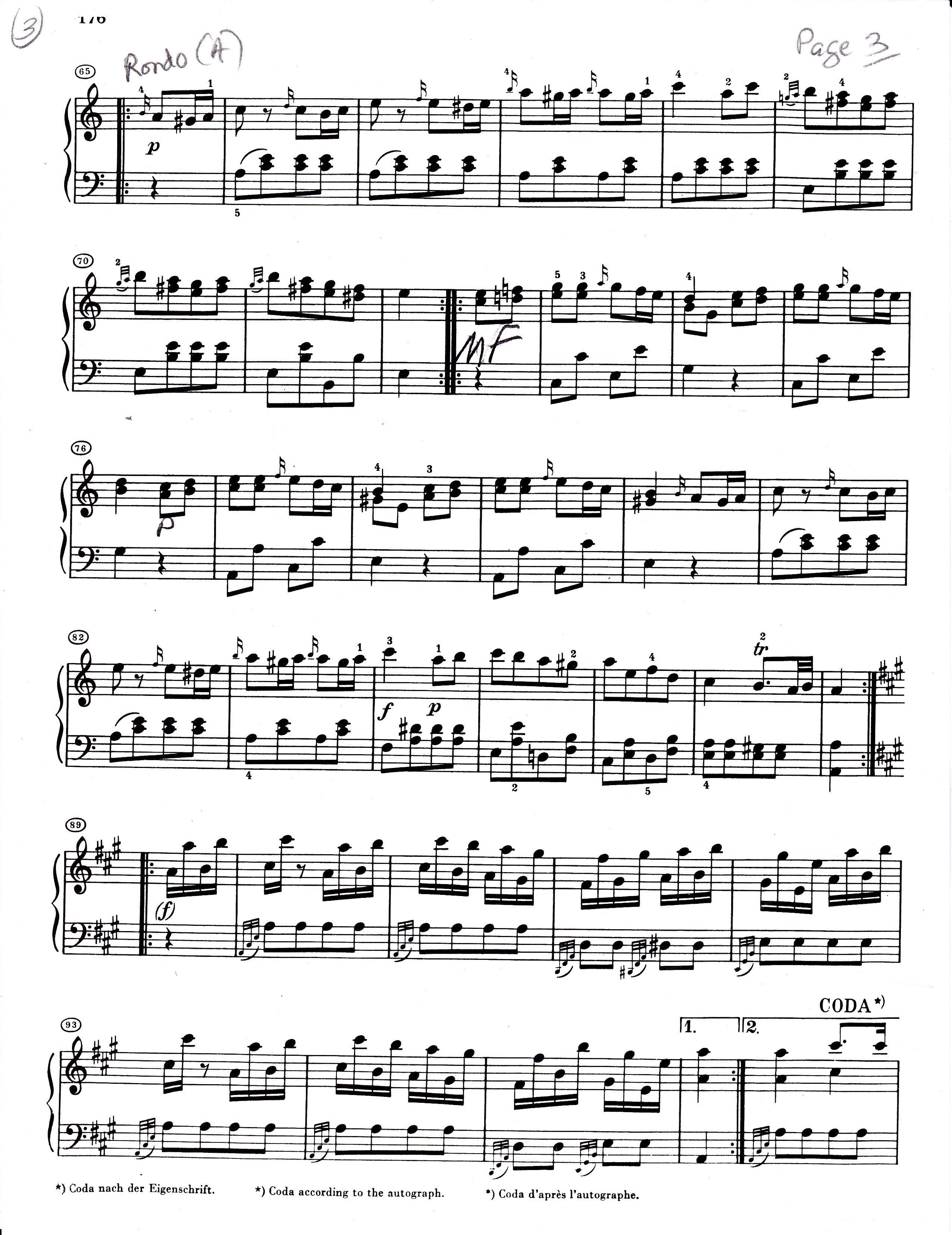 opera musicale rondo turca mozart