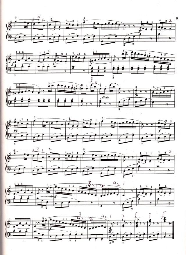 muzio clementi sonatina in c