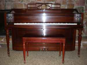 My Haddorff 1951 console, gorgeous inside and out