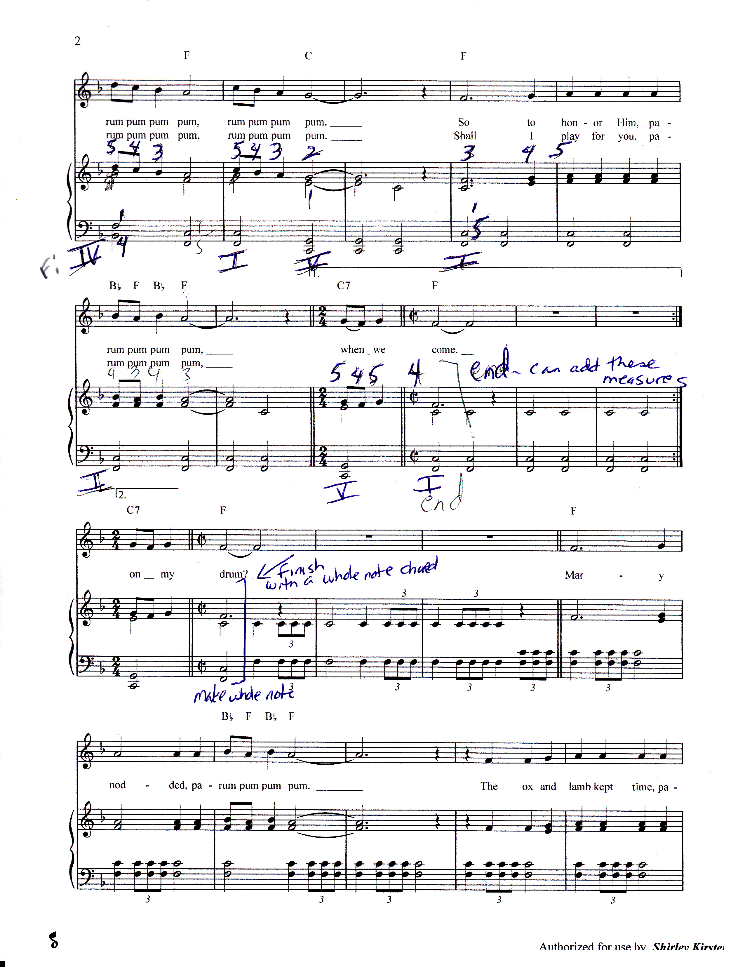 Piano Lessons: Theory and Christmas Music interwoven (Videos ...