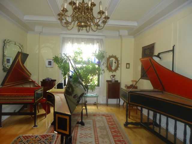 best harpsichords and chandelier