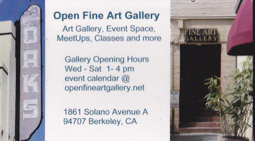 open fine art gallery solano