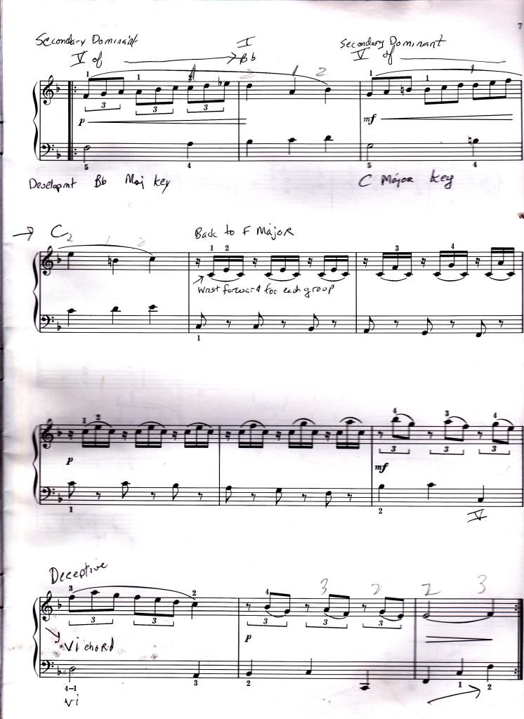 Minuet Mozart K. 5 p. 2