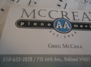 McCrea piano movers