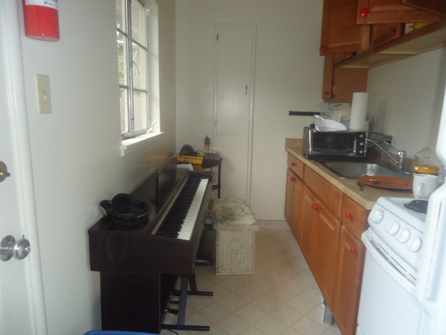Yamaha Arius 141 in kitchen