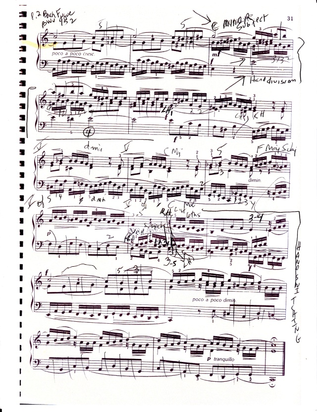 Bach fugue BWV 952 p2
