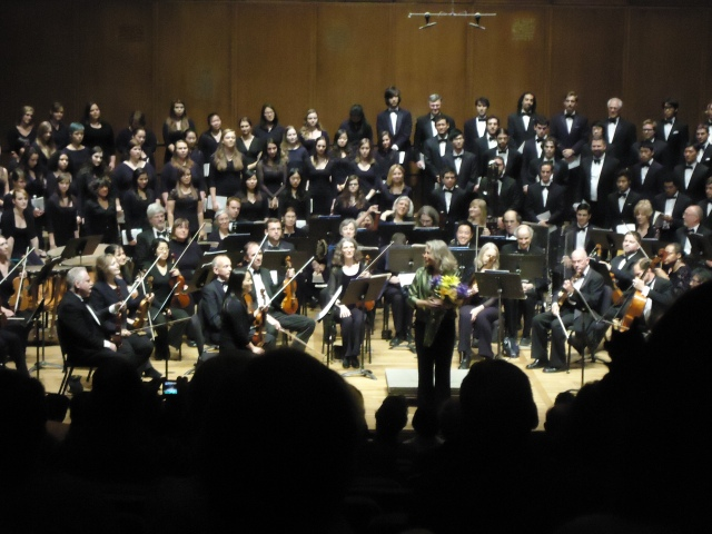 Marika and choir