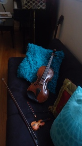 momma and baby violin II