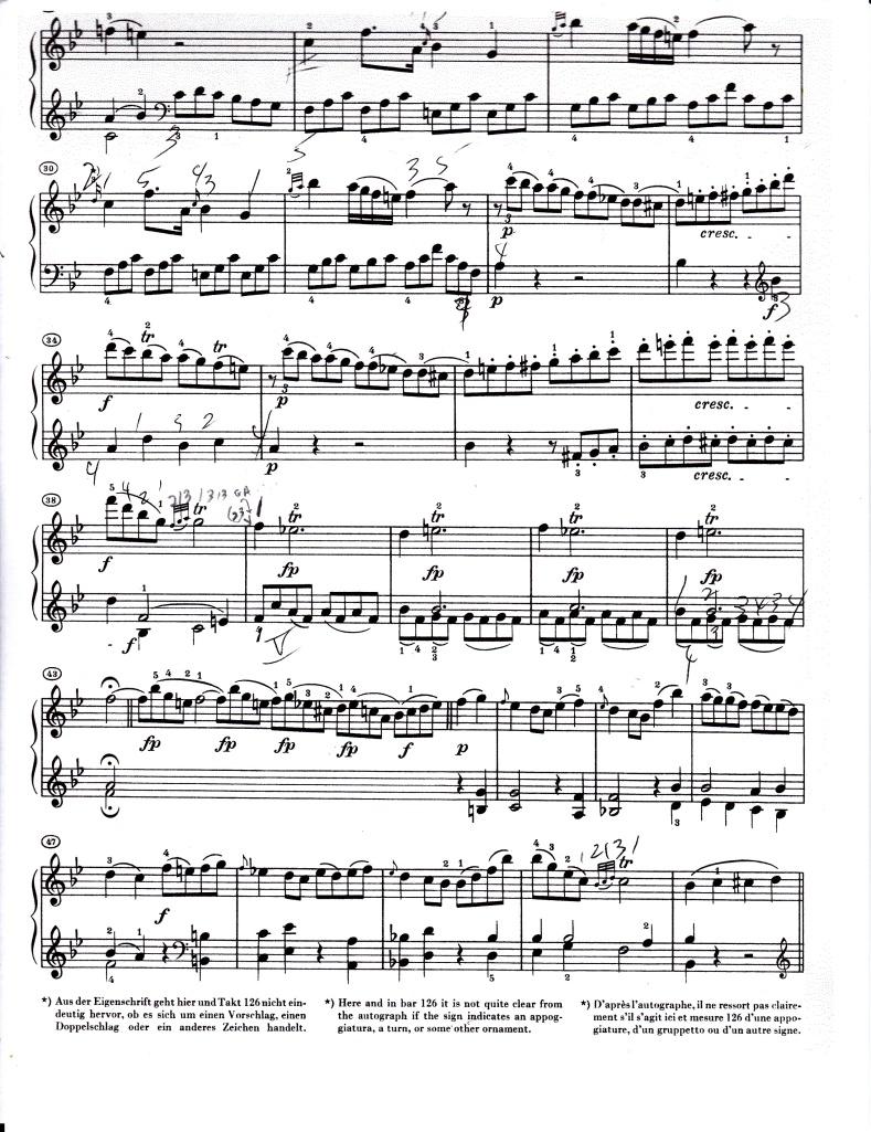 Mozart k 281 rondeau p 2