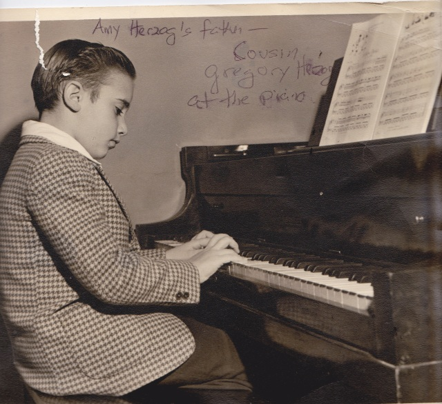 better Gregory Herzog playing the piano, my inspiration