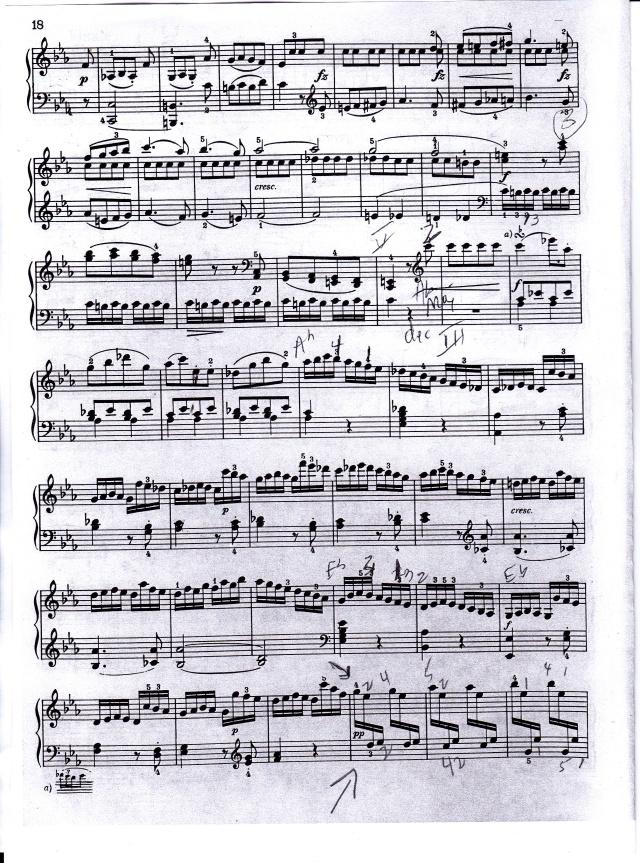 Haydn tricky passage finale