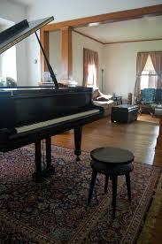 Joy Morin piano room