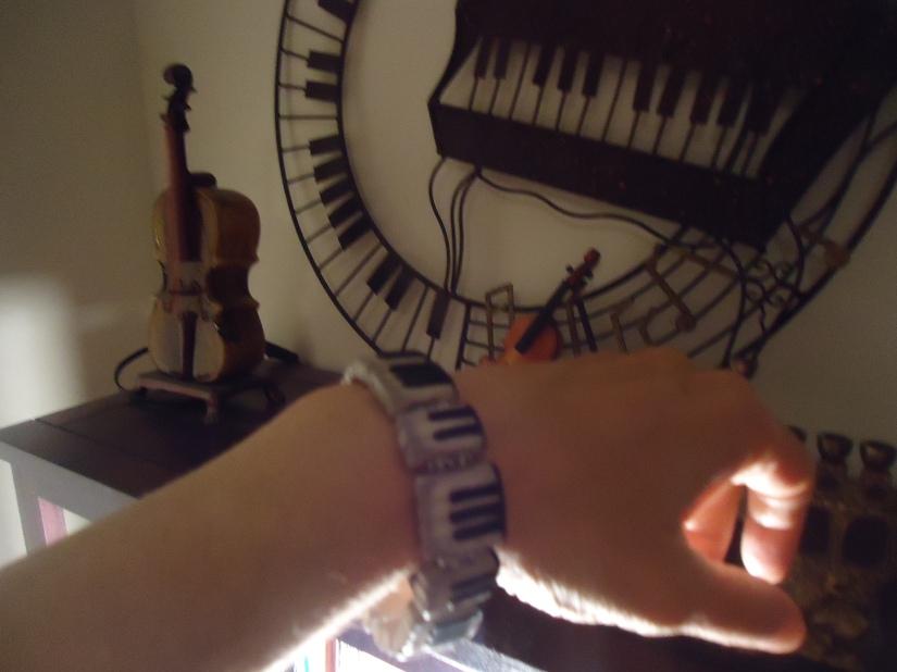 keyboard bracelet