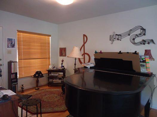 my piano room