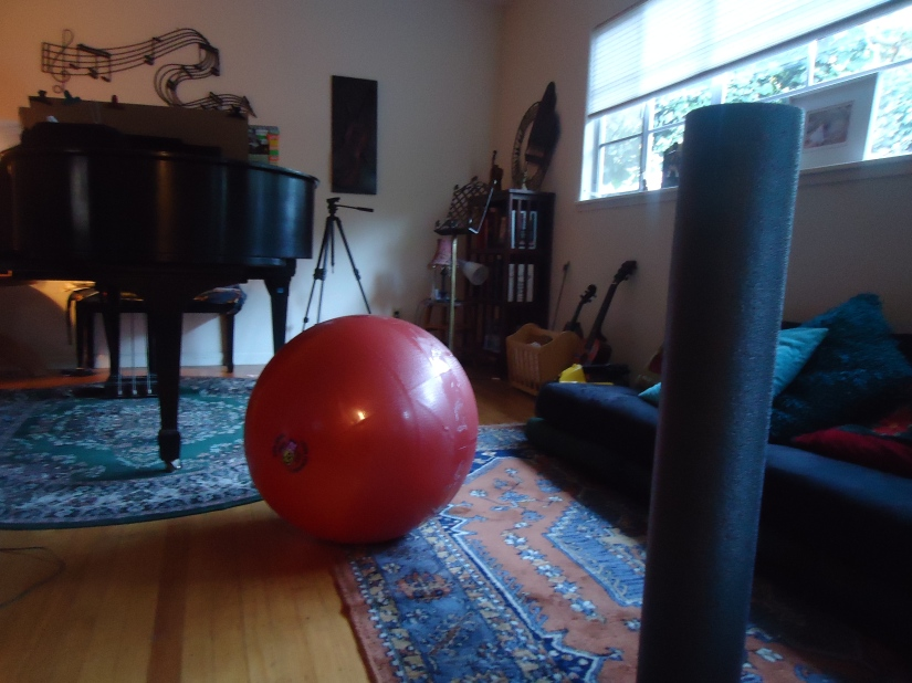 exercise piano room