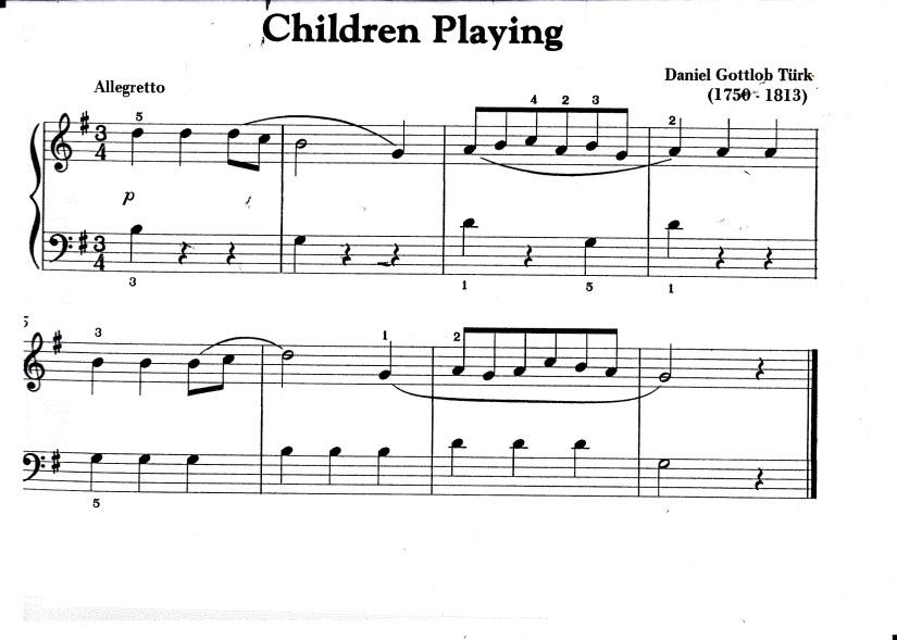Turk Children Playing