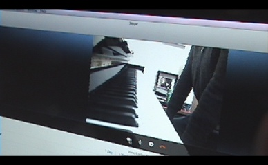 panoramic view of student piano UK