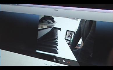 panoramic view of student piano UK