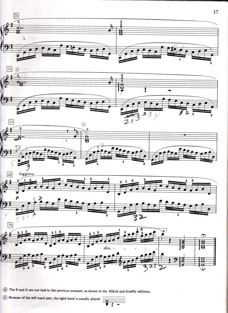 Chopin Prelude in G, Op. 28 no. 3 page 2