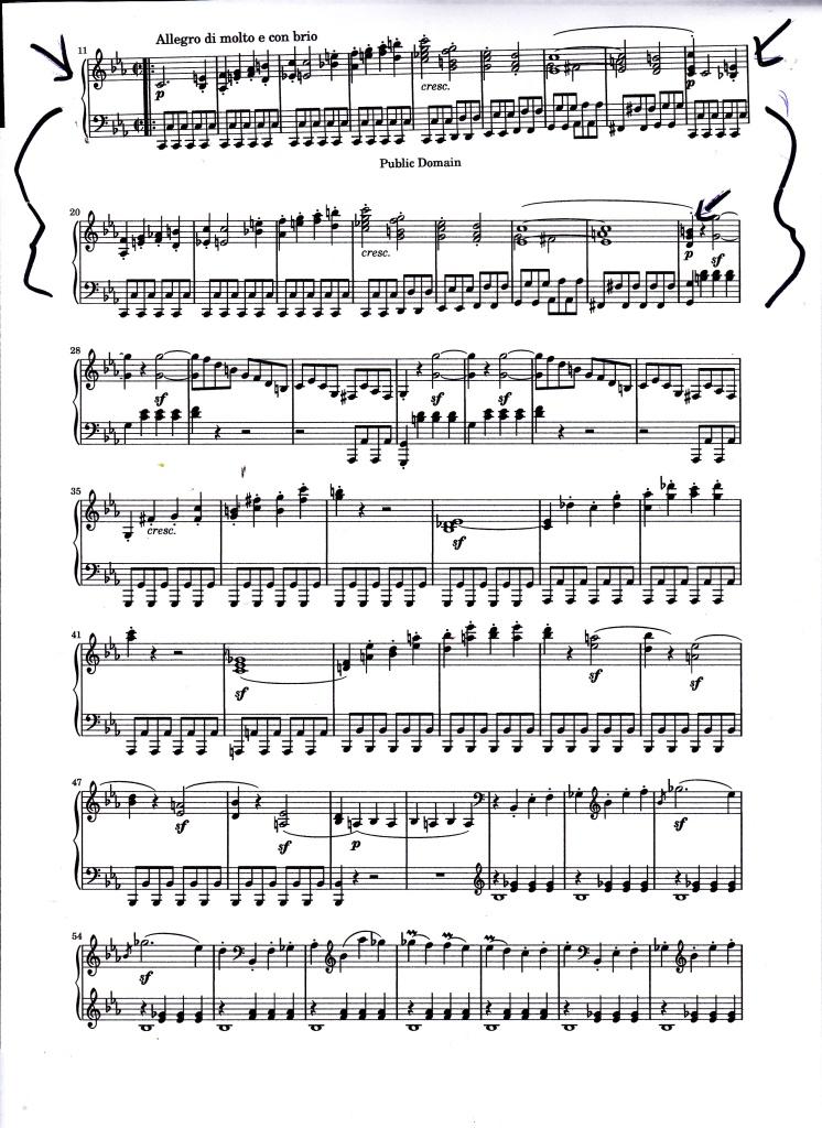 Beethoven tremolos