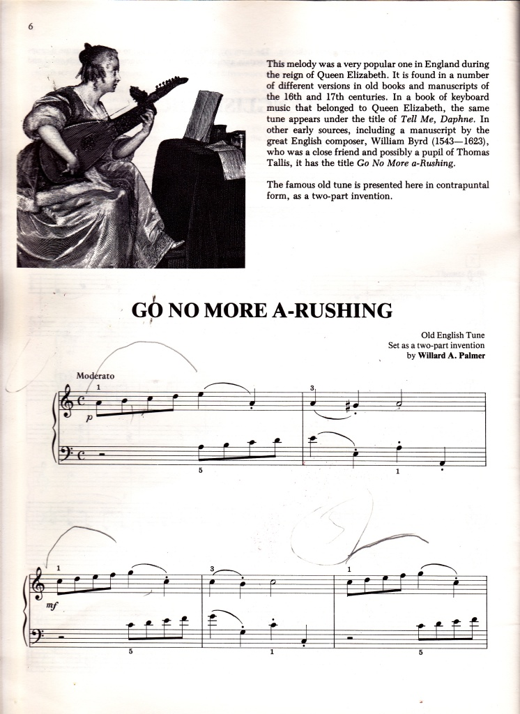 Go No More A'Rushing