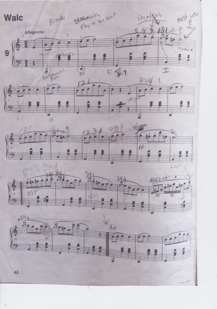 Chopin A minor Waltz p. 1