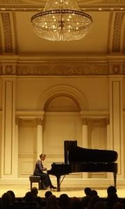 Rebecca at Carnegie Hall