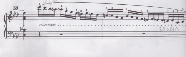 Chopin measure 69 and 70