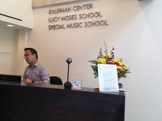 front desk The Special Music School