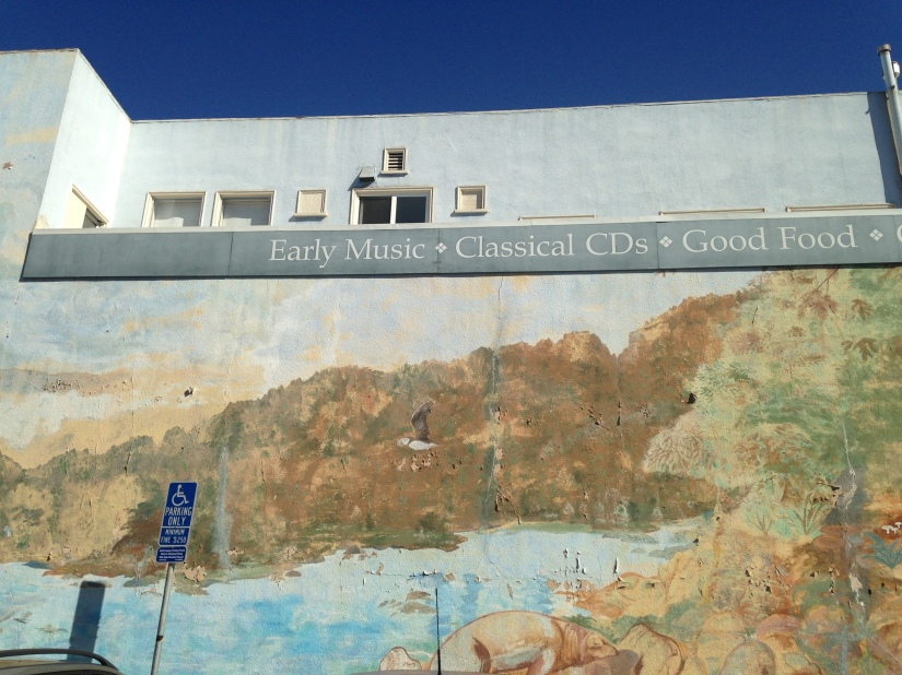 musical offering parking lot mural