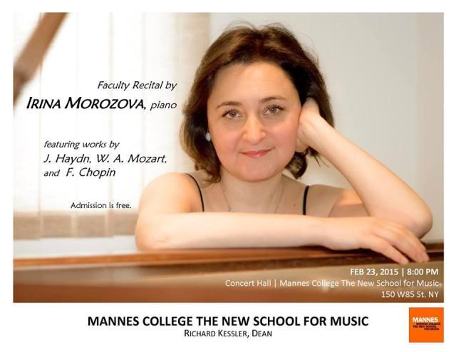Irina Morozova concert release