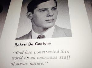 Robert DeGaetano PA grad yearbook pic