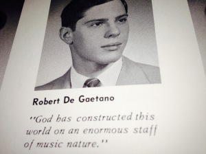 Robert DeGaetano PA grad yearbook pic