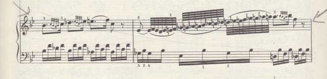 Mozart K. 332 Adagio tricky passage