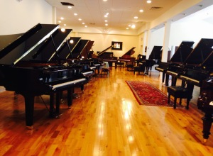 Faust Harrison Spread of pianos