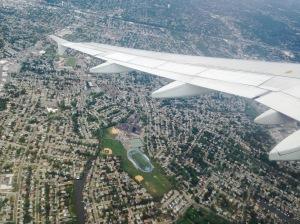 Over NYC JFK