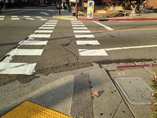 cracked street