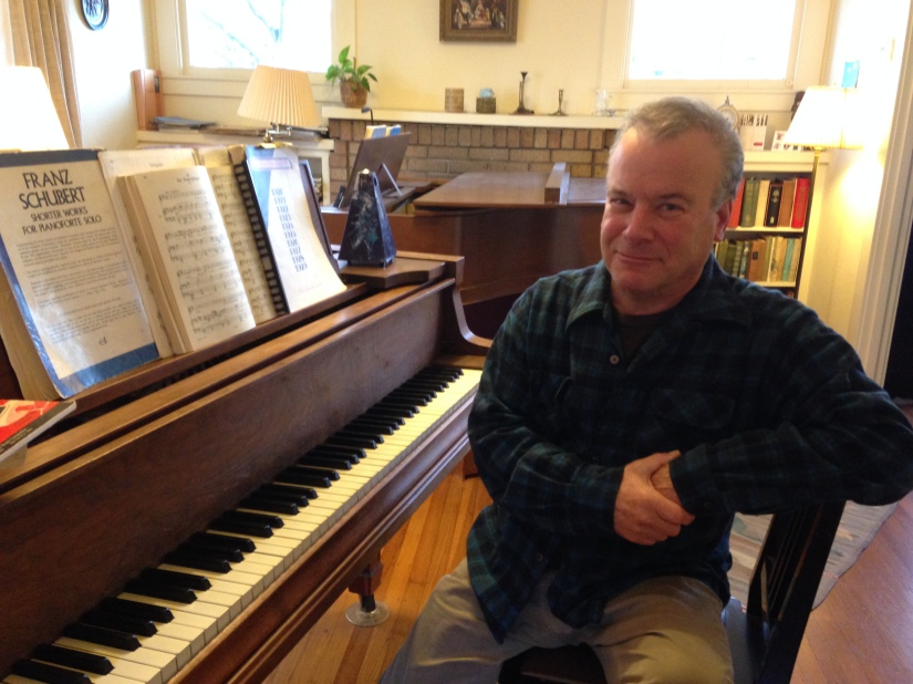 Bruce Loeb at the piano