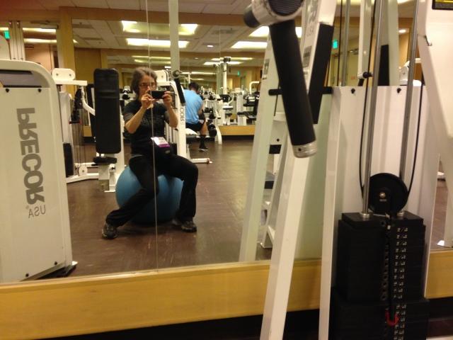me at gym