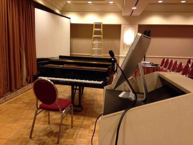 setup in Carmel room