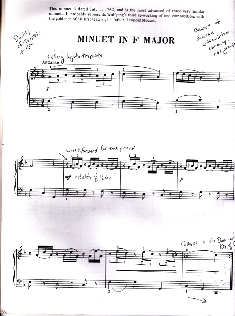 Violin kabalevsky violin concerto in c major sheet music : W.A. Mozart Minuets: Valuable Journeys of Discovery – Arioso7's ...